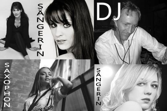 3 Top Sängerinnen, DJ  & Saxophon aus einer Hand - Westends DJ & Künstler Team - Düsseldorf, Köln