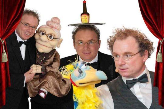 Peter Leonhard Zauberer, Bauchredner, Butler und Spaßkellner