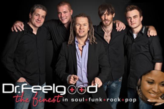 Dr.Feelgood Ihre Liveband & Eventband mit Partygarantie