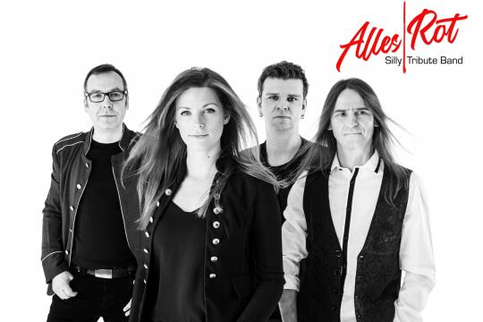 ALLES ROT – die SILLY-Tribute-Band