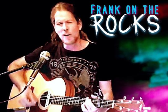 Frank on the Rocks