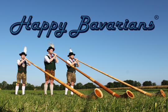 Alphornbläser Happy Bavarians