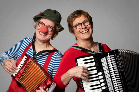 Musikcomedy: Clownerie & Akkordeon