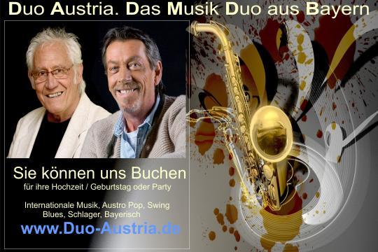 Duo Austria - Ihr Hochzeitsband & Partyband aus Bayern