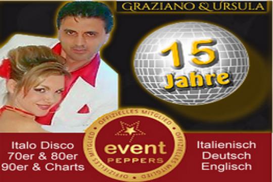 Italienische Latino Disco Hochzeitsband Partyband
