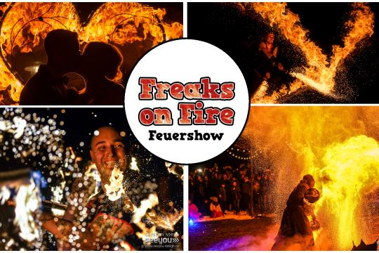 Freaks on Fire – Feuershow & Lichtshow