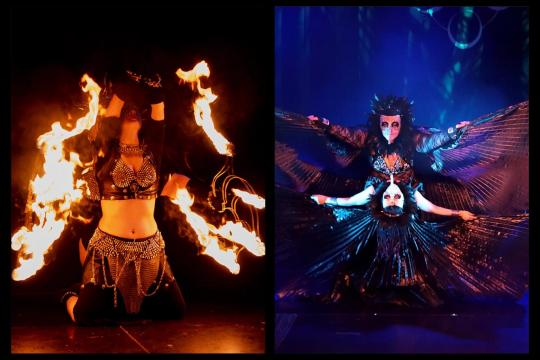 Fantasia Orientica-When Fire embraces Dance
