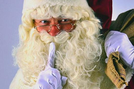 Weihnachtsmann und Nikolaus aus Köln überall hin