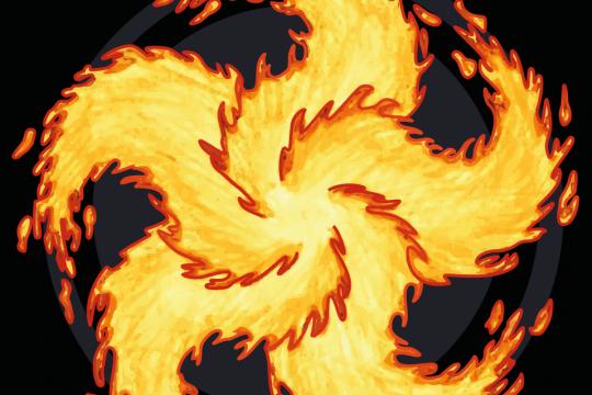 Feuerkünstler Inferno