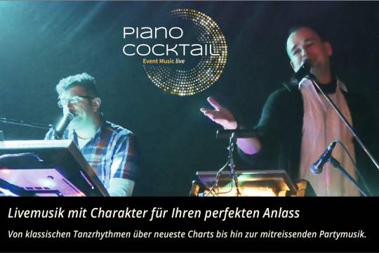 Piano Cocktail- Die Event und Partyband-