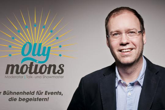 Ollymotions: Oliver W. Schulte - Moderator, Talk- & Showmaster