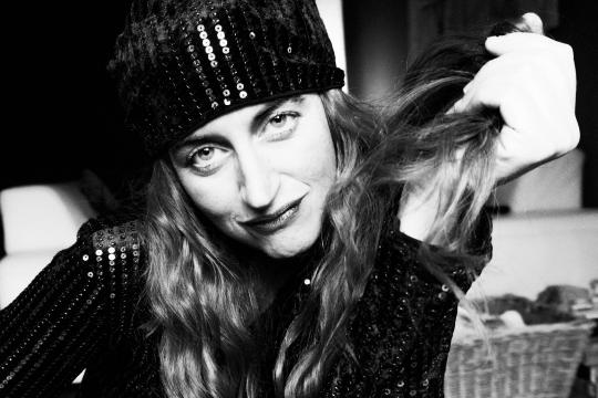Sängerin Nicole Sperber
