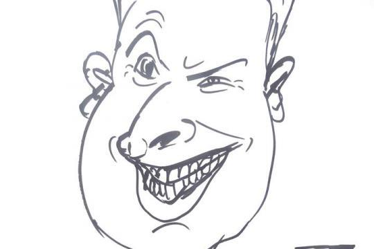 Karikaturist Tristan