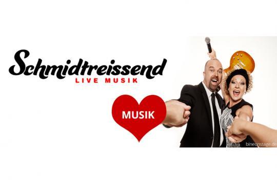 """""""SCHMIDTREISSEND"""" - Partyband, Hochzeitssängerin SOLO, DUO, TRIO - einfach mitreissend!"""