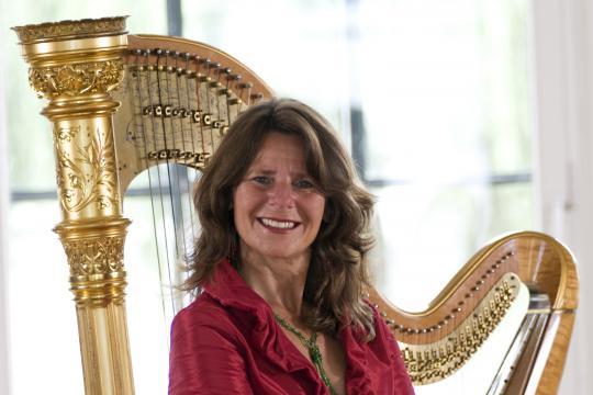 Sylvia Reiß, Harfe