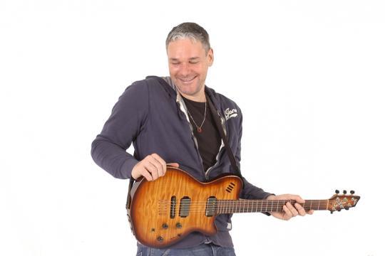 Gitarrist Hanspeter Krüsi
