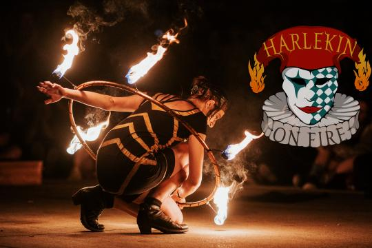 Harlekin On Fire