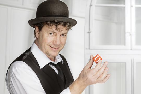 Zauberer Andreas Galsterer
