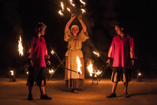 Feuer und Lichtshow für Privat und Großen Events