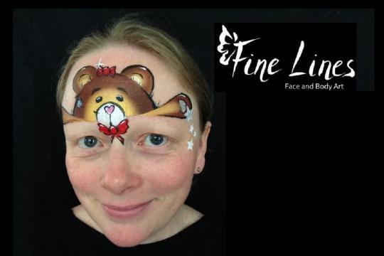 Fine Lines Face and Body Art    von Rosie Lieberman