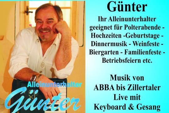 Alleinunterhalter Günter Bauer