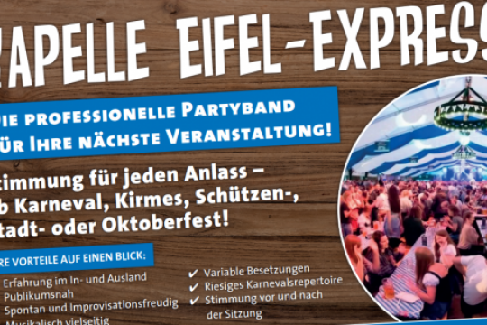 Kapelle Eifel-Express