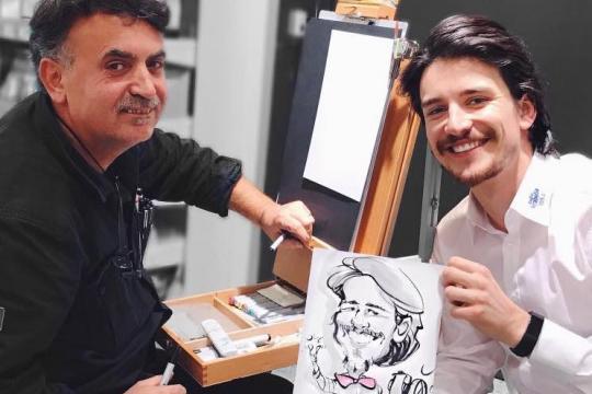 Art - Schnellzeichner & Karikaturist KASLI - aus München - Bayern und Baden-Württemberg