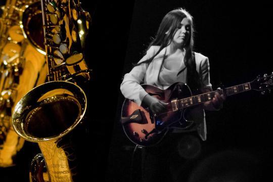 le saxophone et moi
