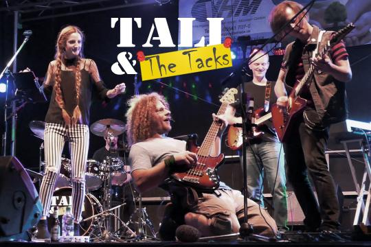 Tali & The Tacks - Die Rock Partyband aus Kassel