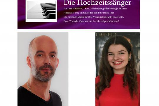 Hochzeitssänger Bamberg - Nina und Peter Hahner