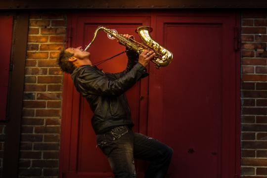 Event-Saxophonist Olli R.