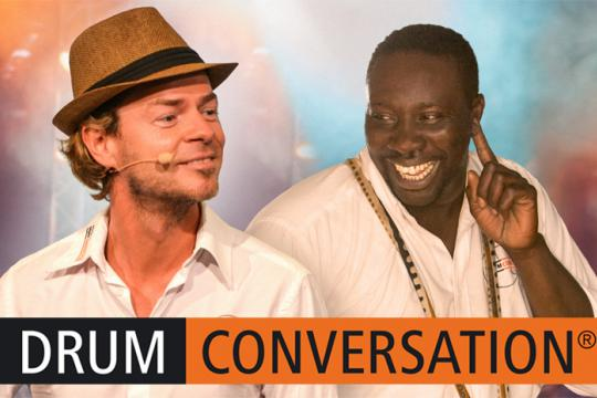 DRUM CONVERSATION - Interaktive Musikevents