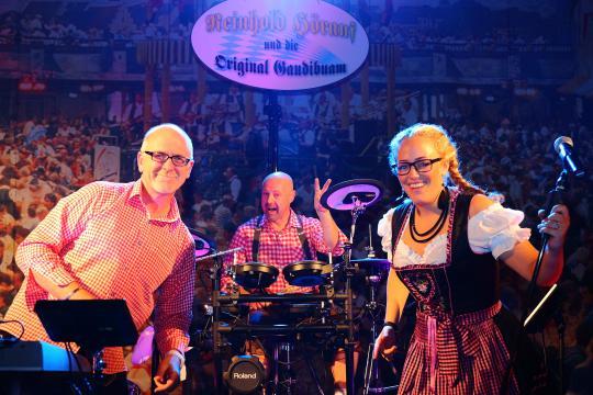 Oktoberfestband Reinhold Hörauf und die Wiesnlumpen