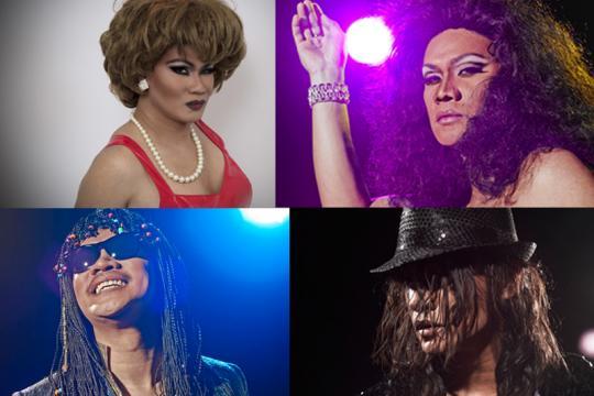 (Augsburgs  Live-Double) Patrick Granado Alias Tina Turner & Michael Jackson