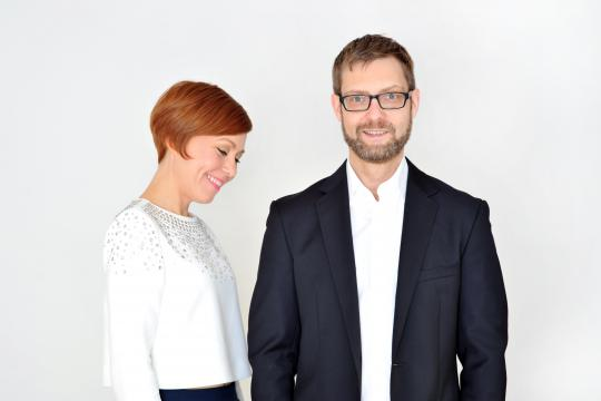 Leslie Moryson und Christian Weller