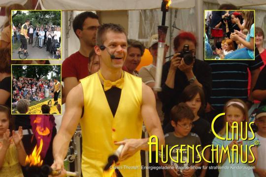 Clown Claus Augenschmaus