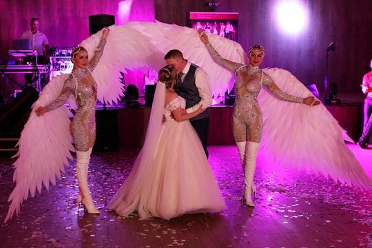 Hochzeitsshow  LED und Show Highlight