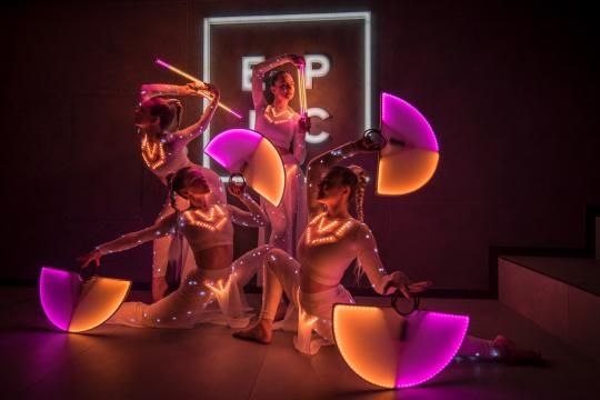 """Illumera"" - LED & Acrobatic Show"
