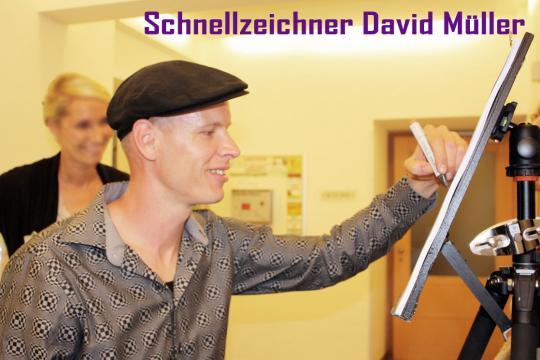 Schnellzeichner David Müller
