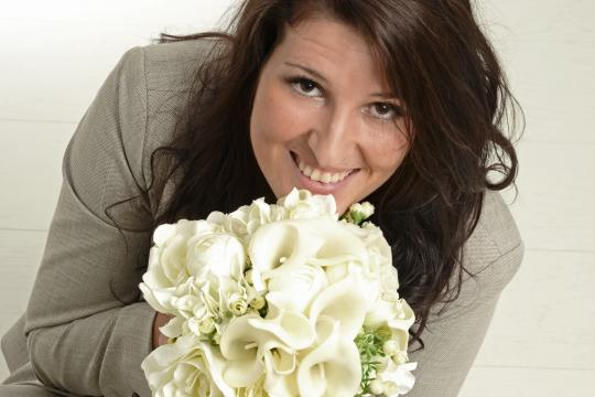 Traurednerin Stephanie Schoger