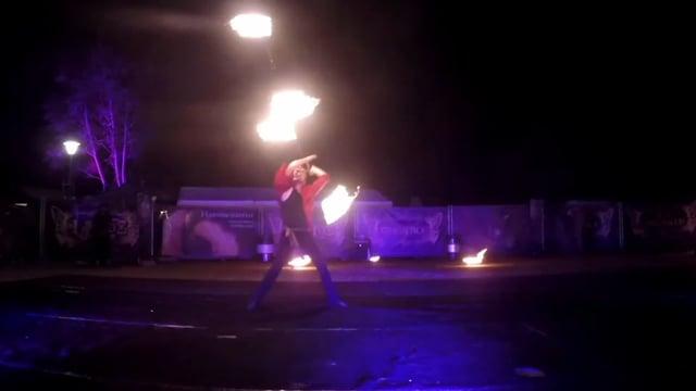 Video: Aristoflame Feuershow