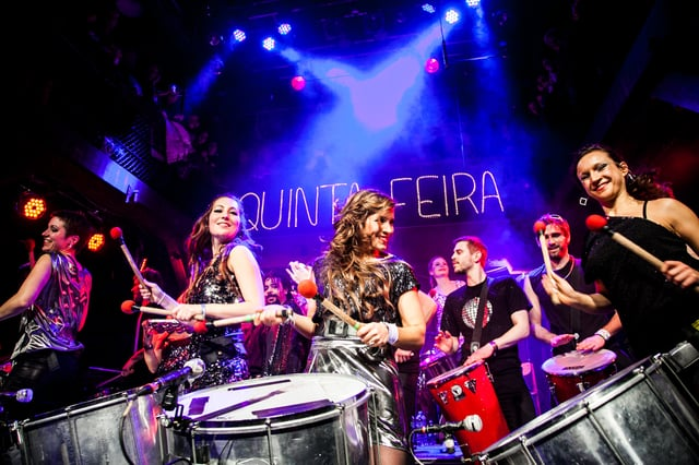 Video: Quinta Feira Percussion Bühne