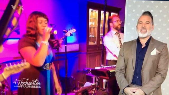 """Video: Hochzeitsband bei VOX TV """"4 Hochzeiten und eine Traumreise"""""""
