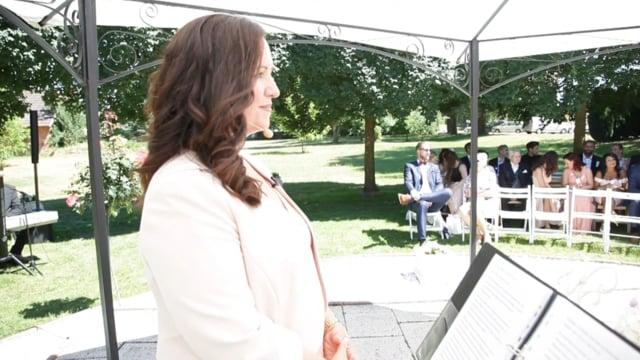 Video: Promi-Trauung von Leonard Freier & seiner Caona