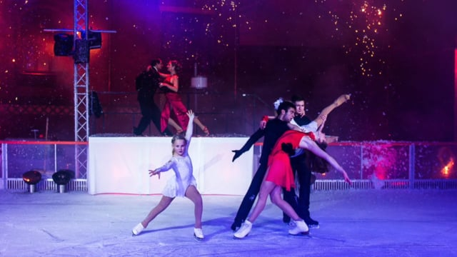 Video: Tango on Ice - 2016 - Idee/ Choreographie / Konzept Les Lionnes
