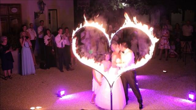 Video:  Soloshow mit Feuerherz