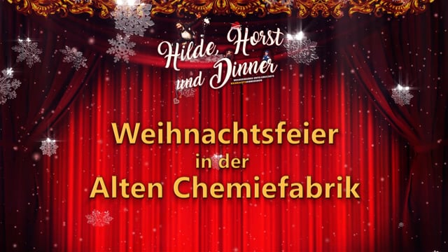 Video: Weihnachten in der alten Chemiefabrik Cottbus