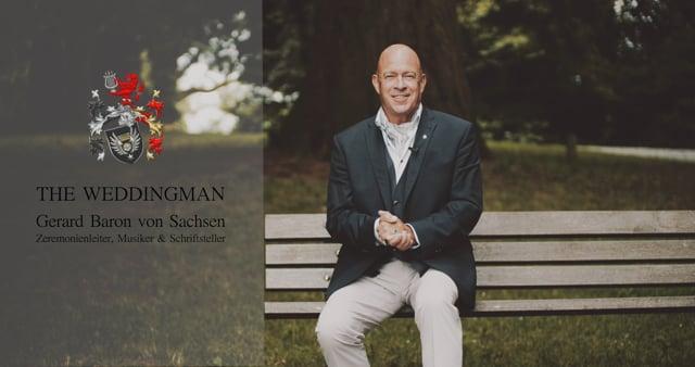 Video: Der Wedding Man Gerard Baron von Sachsen