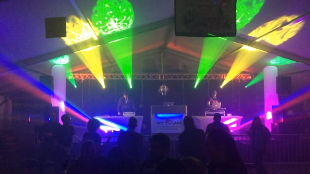 Video: Zelt-Disco zur Kirmes