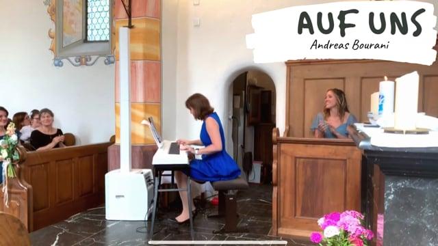 """Video: Überraschungssong beim Auszug des Brautpaares: """"Auf uns"""" Sargans (2019)"""